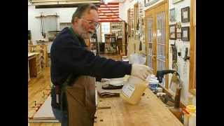 Making A Veneered Executive Desk Part 4-2, Bent Laminations: Andrew Pitts~furnituremaker