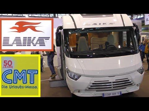 CMT Messe Stuttgart 2018 LAIKA - Wohnmobile - Reisemobile - mobile homes