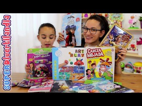 Novedades: Clikies, Parchís Art Play, Libros infantiles y Cabeza Mojada!!