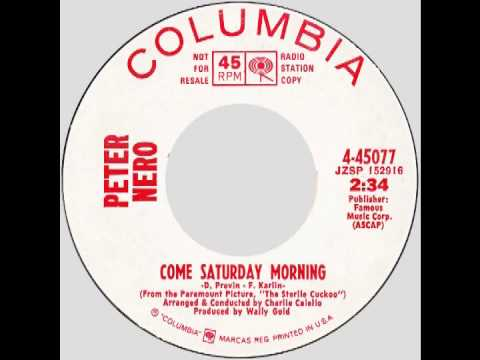 "Peter Nero – ""Come Saturday Morning"" (Columbia) 1971"
