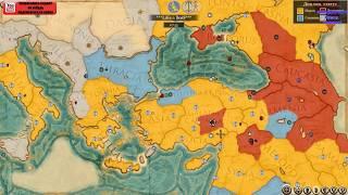 ROME TOTAL WAR 2 большая компания по сети с другом Колей 1х1(#8)