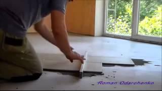 Укладка плитки на пол, советы мастера.