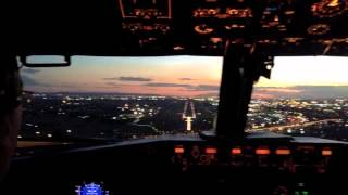 atterrissage johannesbourg
