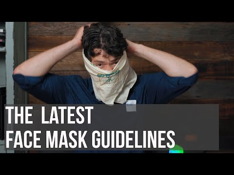 How to Wear a Face Mask: Pro Tips from the Man Himself