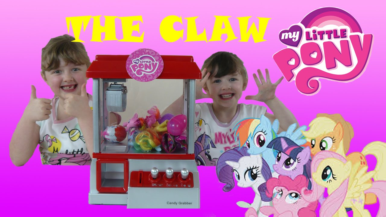 Claw Machine Game Toy Challenge Candy Grabber Mlp Kinde