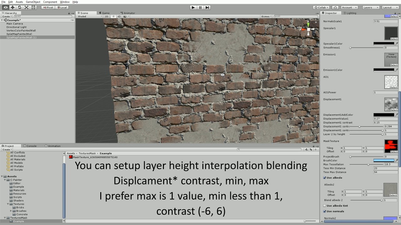 Material Painter for Unity3D [Tutorial]