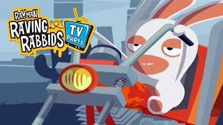 #15 Rayman Raving Rabbids TV Patry - Harley Rabbidson - Video Game - Gameplay - Movie For Kids