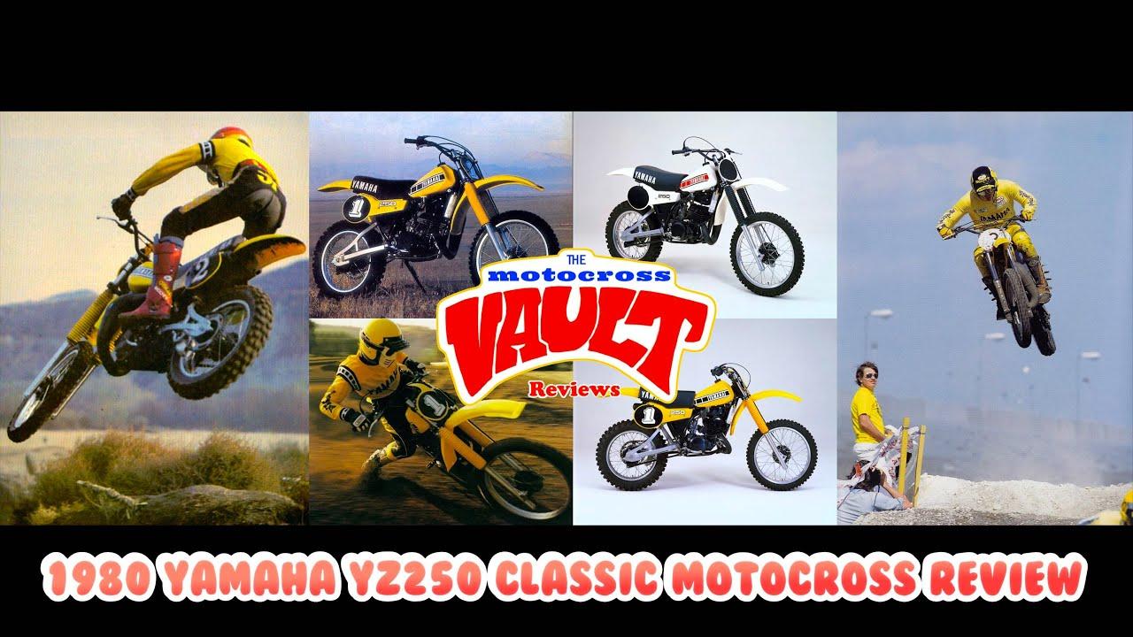 1980 Yamaha YZ250 Classic Motocross Review