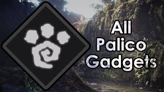 Monster Hunter World: How to Get All Palico Gadgets