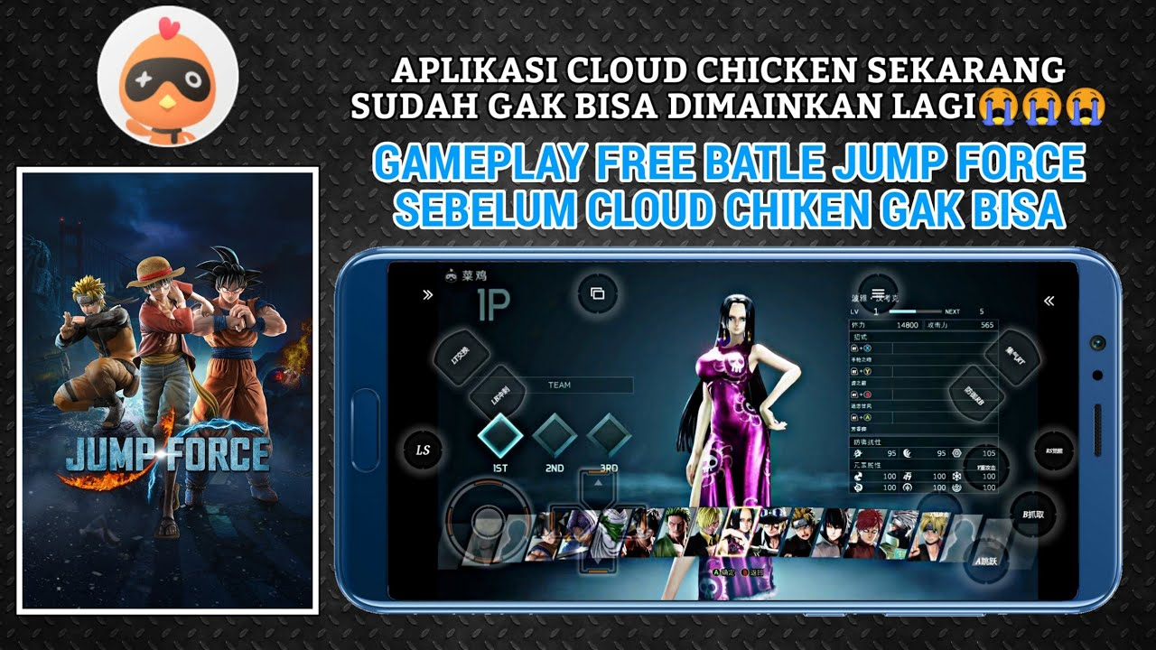 Main Jump Force Di cloud chicken android