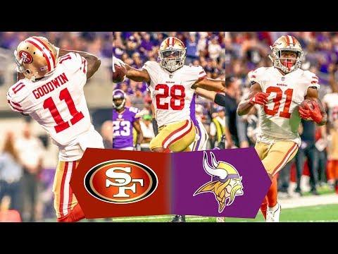 49ers VS Vikings Postgame NFL 2017 Preseason Week 3 Gathering