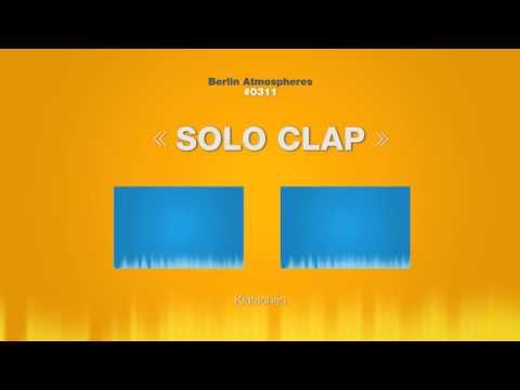 •Free Sound Effect• Solo Clap SOUND EFFECT - Solo Clapping Klatschen One Hand SOUNDS