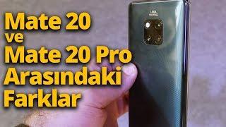 Huawei Mate 20 ile Mate 20 Pro arasındaki farklılıklar!