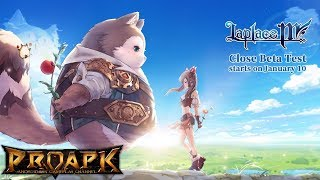 Laplace M Gameplay Android / iOS (Open World MMORPG) (CBT)
