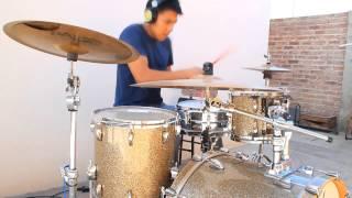 Gambar cover Ulises Cabrera (Drum Cover) Albaro Lopez &  Resqband -  Libre soy