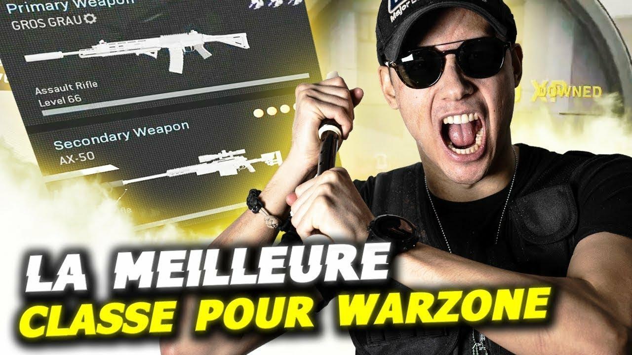 MEILLEURE CLASSE ET ATOUTS SUR WARZONE !! (JOUE COMME UN PRO)