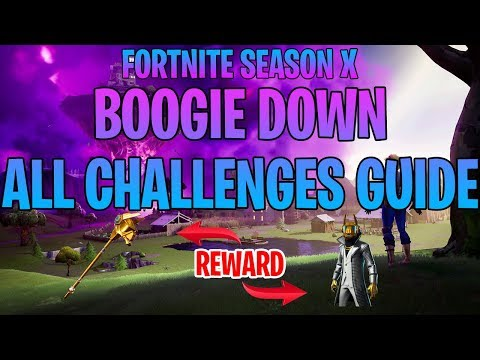 Fortnite *ALL* Boogie Down Challenges Guide!