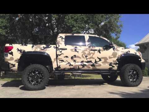 camouflage truck vehicle wraps youtube. Black Bedroom Furniture Sets. Home Design Ideas