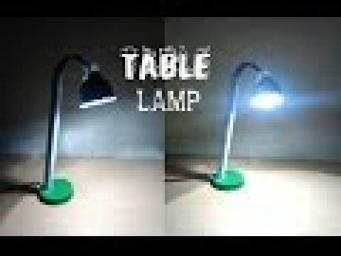 How make a table... fan