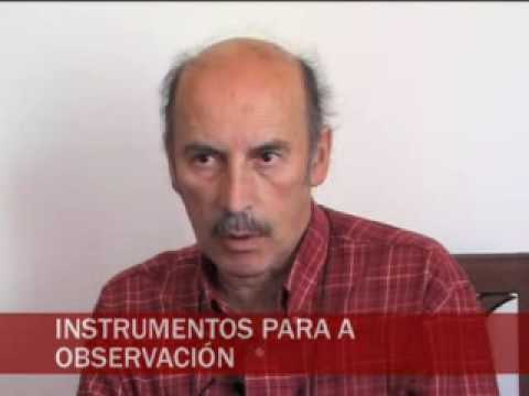 Visita ao Observatorio Ramón Aller da Universidade de Santiago de Compostela