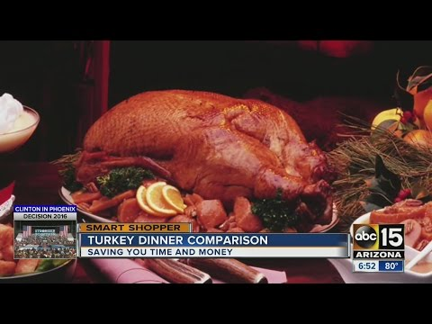 Here's the best bargain for pre-cooked Thanksgiving meals