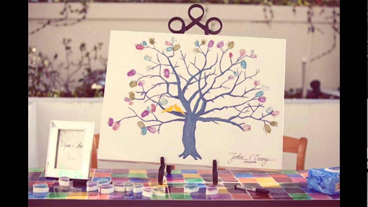 creative wedding guest book ideas youtube