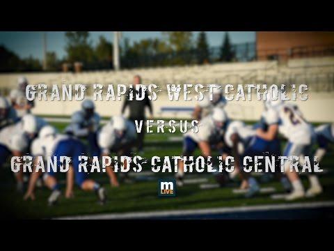 Grand Rapids West Catholic vs Grand Rapids Catholic Central High School Football 2016