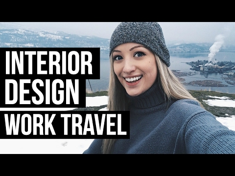 FLYING ACROSS THE COUNTRY FOR WORK | Interior Design
