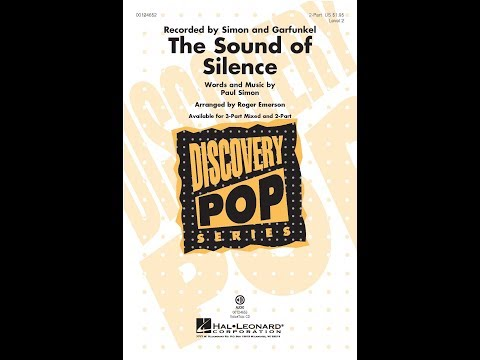 The Sound of Silence (2-Part) - Arranged by Roger Emerson