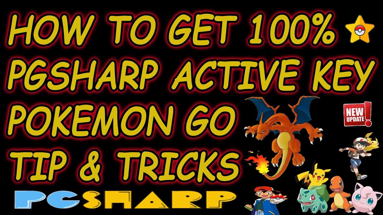 HOW TO GET 100% PGSHARP ACTIVE KEY POKEMON GO TIP & TRICKS ...