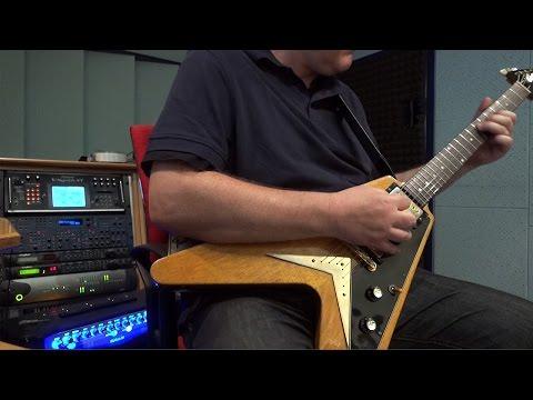Vintage 1959 Gibson Flying V Korina Demo