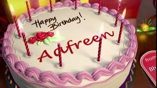 Happy Birthday Aafreen