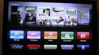 Apple TV 2 Jailbroken with (KODI) XBMC | How to Play Free Movies and TV Shows on Apple TV