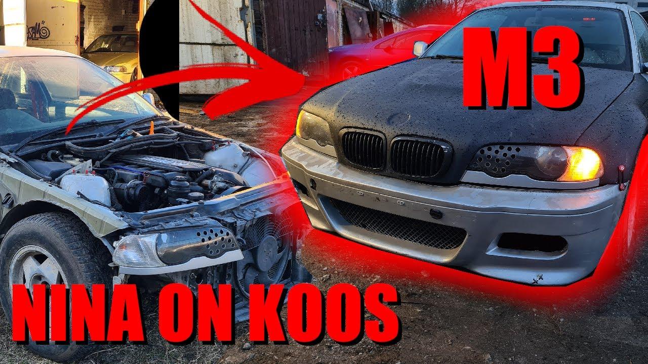 BMW E46 Driftikast sai M3!