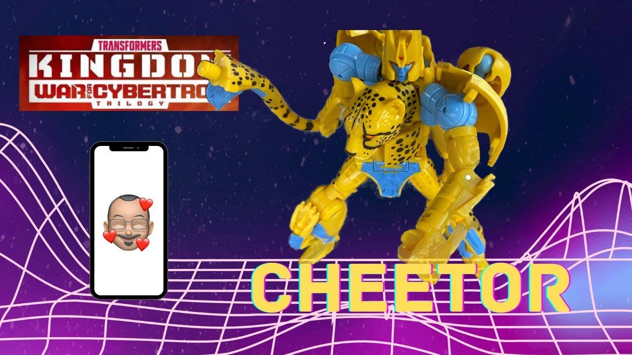Transformers Kingdom Cheetor Review by Aikavari