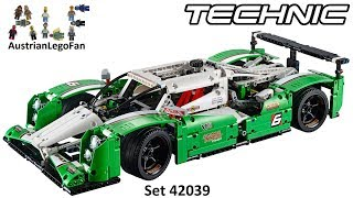 Lego Technic 42039 24 Hours Race Car / Langstrecken Rennwagen - Lego Speed Build Review