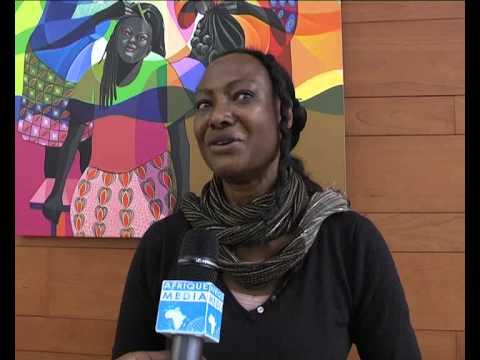 Situation au MALI   INTERVIEW RAHMATOU KEITA sur AFRIQUE MEDIA Television