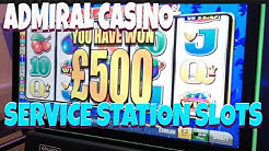£500 jackpot slots from service station and admiral