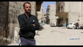 تفجيرات النظام للمباني  في حي القابون تهدد مئات العوائل