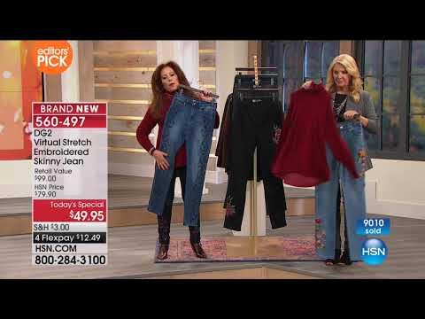 HSN | Diane Gilman Fashions 09.17.2017 - 12 AM
