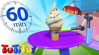 Gambar cover TuTiTu Compilation | Ice Cream Maker Machine  | And Other Surprising Toys | 1 Hour Special