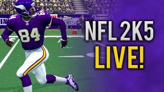 My First Time Playing NFL 2k5 (PS2 Gameplay)