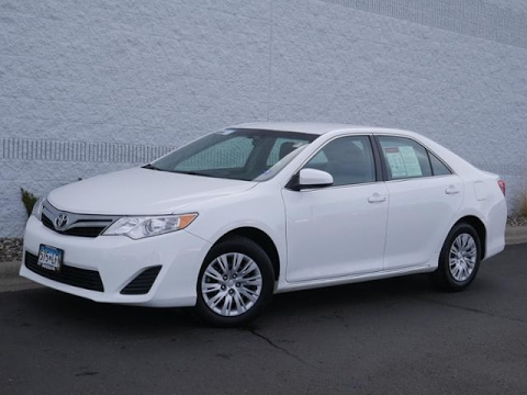 2014 toyota camry 4dr sdn i4 auto for sale in coon rapids. Black Bedroom Furniture Sets. Home Design Ideas