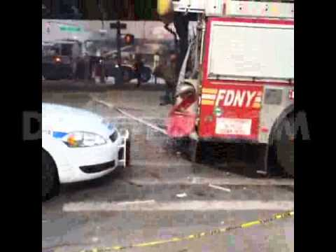 East Harlem rocked by large blast and building collapse