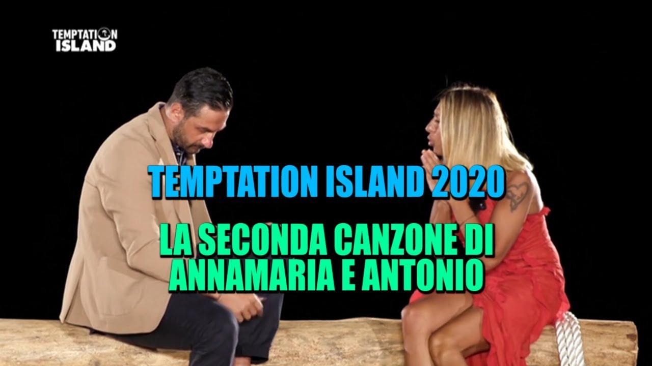 TEMPTATION ISLAND 2020 - LA SECONDA CANZONE DI ANNAMARIA E ANTONIO (HIGHLANDER DJ EDIT)