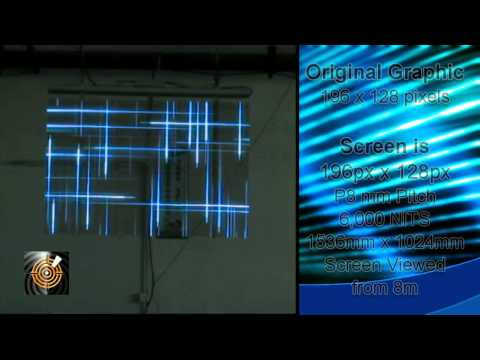 ICE Digital LED Glass Panels Demo and Explanation