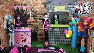 How To Make a Custom Monster High Ghoul Fair Playset