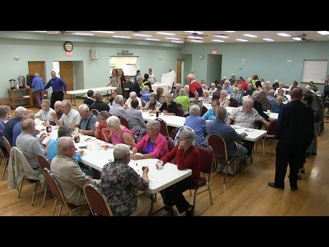 Olds celebrates seniors week with pancake breakfast