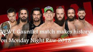 WWE RAW Results 19th February 2018 - Latest Monday Night Raw Winners - 7 Man Chamber Match Results