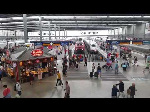 München Hauptbahnhof, Central Station Munich